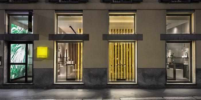 12 Ottobre 2017 Installazione per Showroom Cristina Brera.