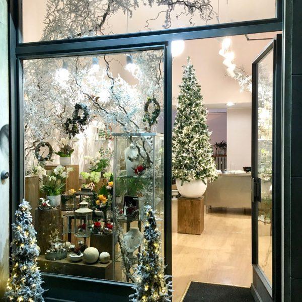 26 Novembre 2017 Allestimento negozio per Natale!