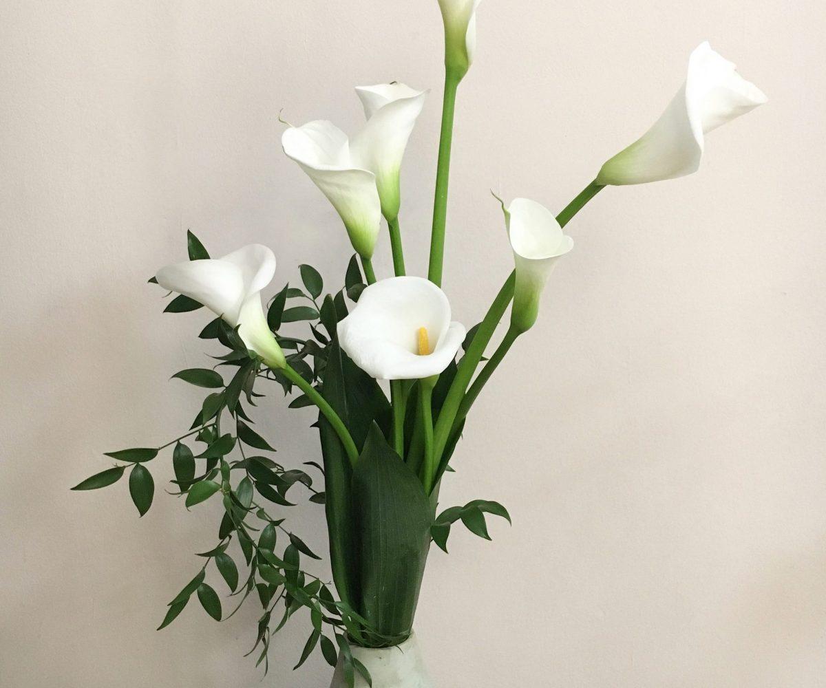 30 Gen 2020 Bouquet e composizione con Bamboo